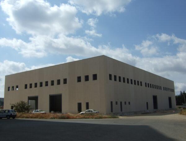 Stabilimento industriale Ragusa